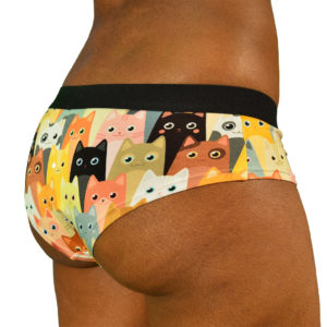 womens hipsters cats underwear
