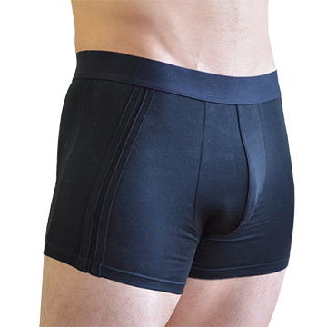 Men's Trunks in Dark Black