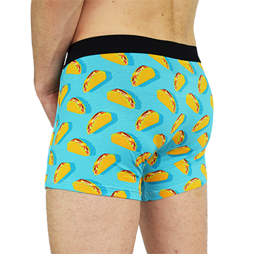 Men's Trunks in Raining Tacos